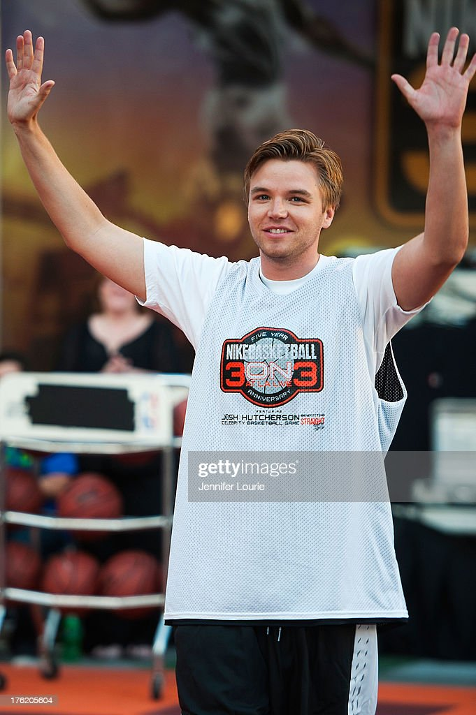 Actor Brett Davern attends the 5th annual Nike basketball 3ON3 tournament presented by NBC4 southern california held at L.A. LIVE on August 9, 2013 in Los Angeles, California.
