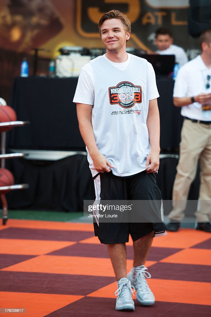 Actor <a gi-track='captionPersonalityLinkClicked' href=/galleries/search?phrase=Brett+Davern&family=editorial&specificpeople=4015517 ng-click='$event.stopPropagation()'>Brett Davern</a> attends the 5th annual Nike basketball 3ON3 tournament presented by NBC4 southern california held at L.A. LIVE on August 9, 2013 in Los Angeles, California.