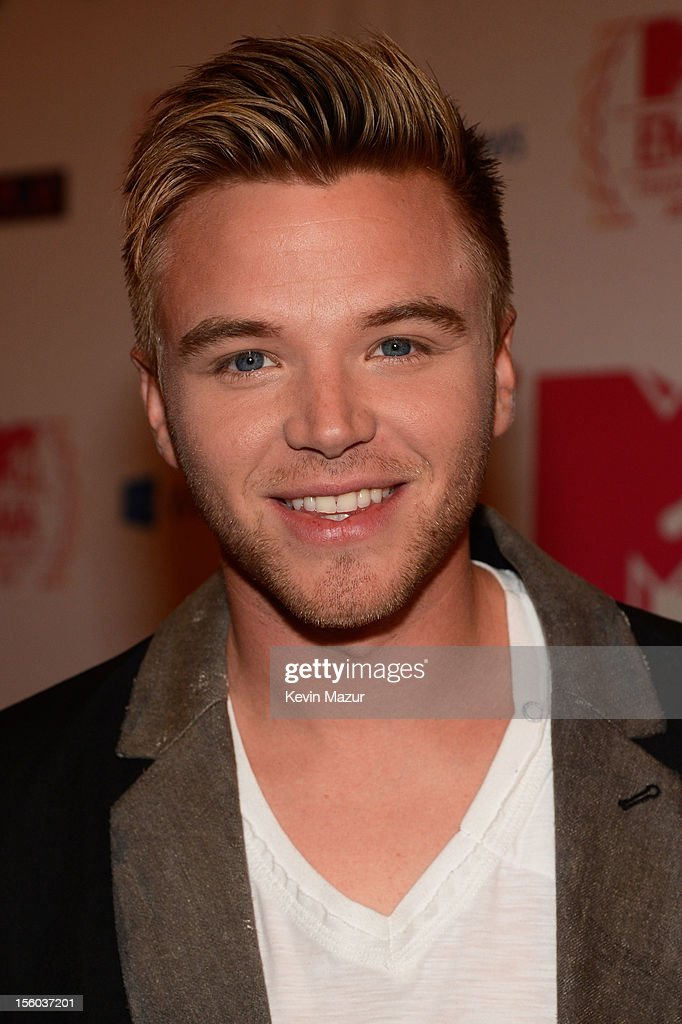 Actor Brett Davern attends the MTV EMA's 2012 at Festhalle Frankfurt on November 11, 2012 in Frankfurt am Main, Germany.