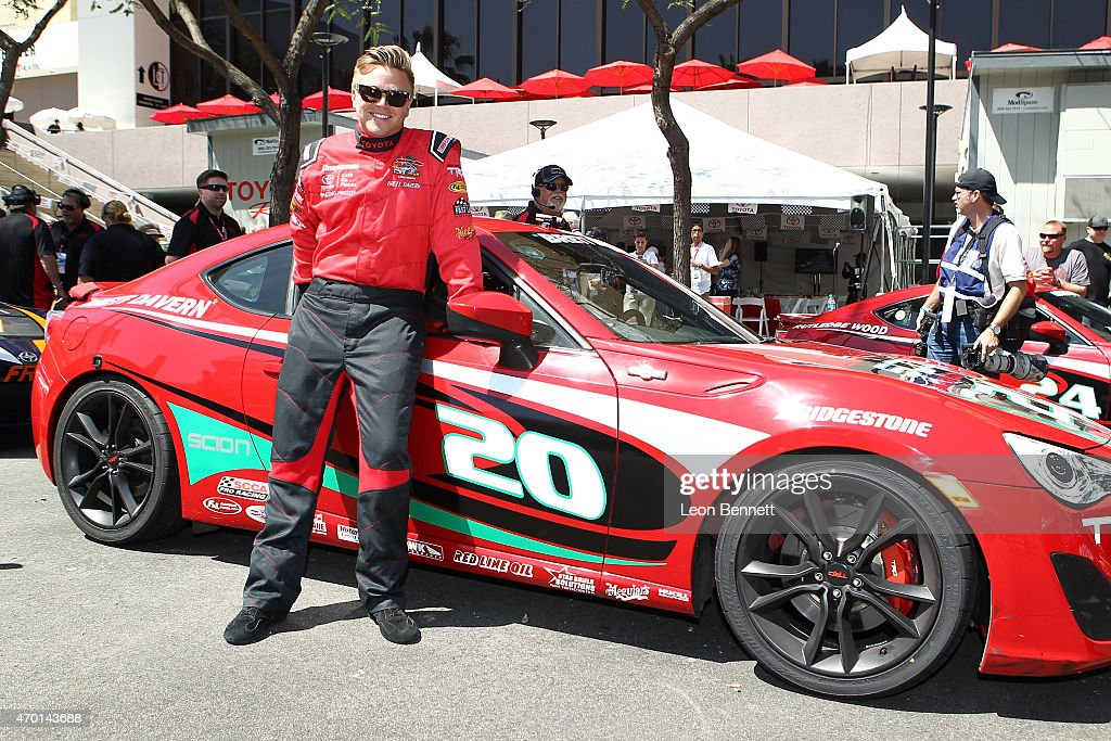 Toyota Grand Prix Of Long Beach Pro Celebrity Race Practice Day Getty Images