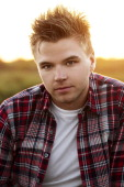 Actor Brett Davern is photographed for Self Assignment on September 15 2012 in Carpinteria California
