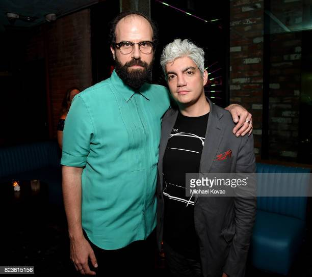 Actor Brett Gelman and producer Jared Goldman attend the Los Angeles Premiere of INGRID GOES WEST presented by SVEDKA Vodka and Avenue Los Angeles at...