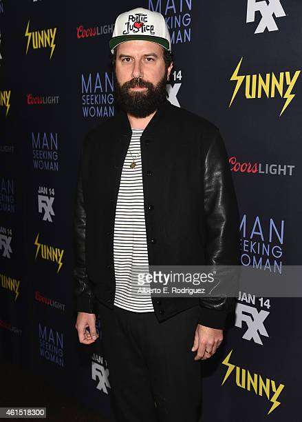Actor Brett Gelman arrives to the premiere of FXX's 'It's Always Sunny in Philadelphia' 10th Season and 'Man Seeking Woman' at DGA Theater on January...