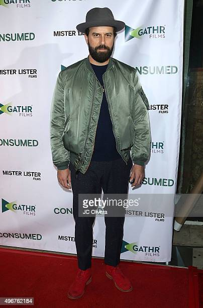 Actor Brett Gelman attends at the premiere of Mister Lister Film's 'Consumed' at Laemmle Music Hall on November 11 2015 in Beverly Hills California