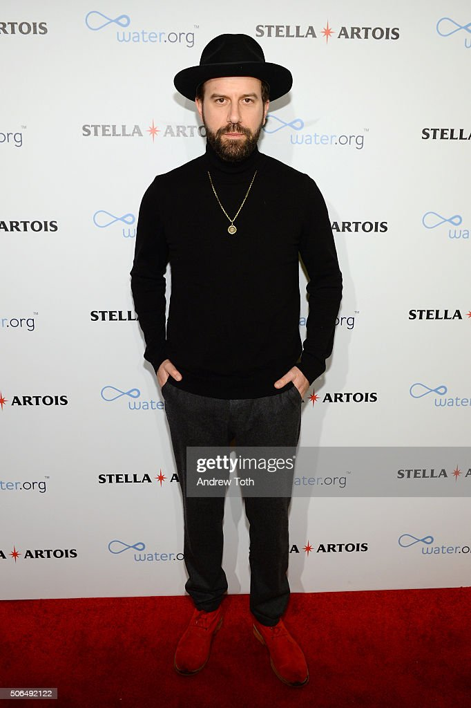 Actor Brett Gelman attends Stella Artois Filmmaker Lounge presents 'Joshy' supper on January 23 2016 in Park City Utah