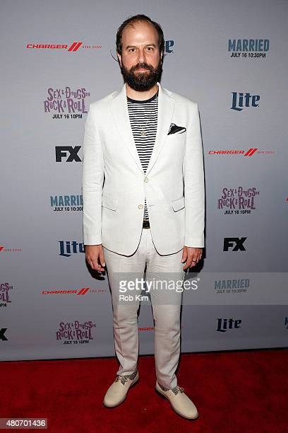 Actor Brett Gelman attends the New York Series Premiere of 'Married' at the SVA Theater on July 14 2015 in New York City