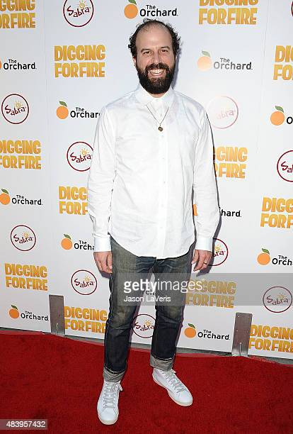 Actor Brett Gelman attends the premiere of 'Digging For Fire' at ArcLight Cinemas on August 13 2015 in Hollywood California