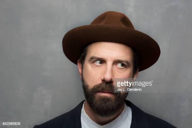 Actor Brett Gelman from the film Lemon is photographed at the 2017 Sundance Film Festival for Los Angeles Times on January 23 2017 in Park City Utah...