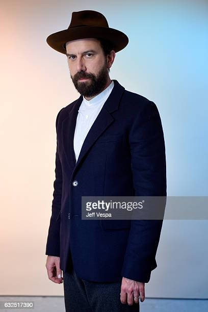 Actor Brett Gelman from the film 'Lemon' poses for a portrait in the WireImage Portrait Studio presented by DIRECTV during the 2017 Sundance Film...
