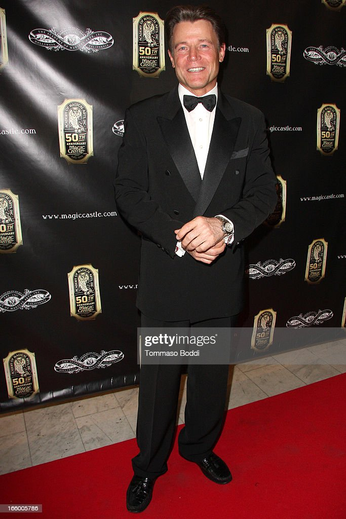 Actor Brett Stimely attends the Academy Of Magical Arts 45th Annual AMA Awards Show held at the Orpheum Theatre on April 7, 2013 in Los Angeles, California.