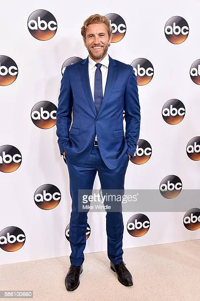 Actor Brett Tucker attends the Disney ABC Television Group TCA Summer Press Tour on August 4 2016 in Beverly Hills California