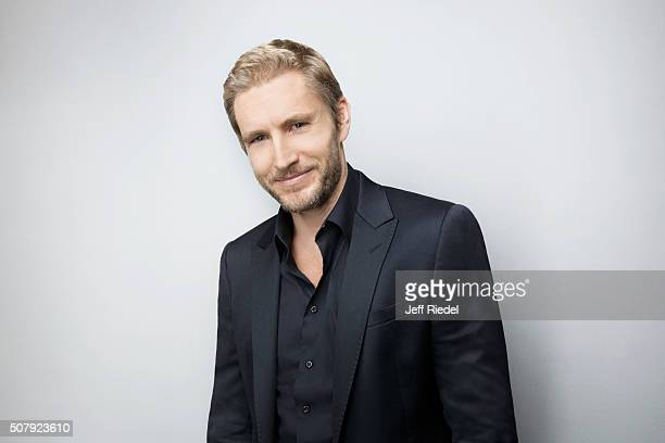 Actor Brett Tucker is photographed for TV Guide Magazine on January 14 2015 in Pasadena California
