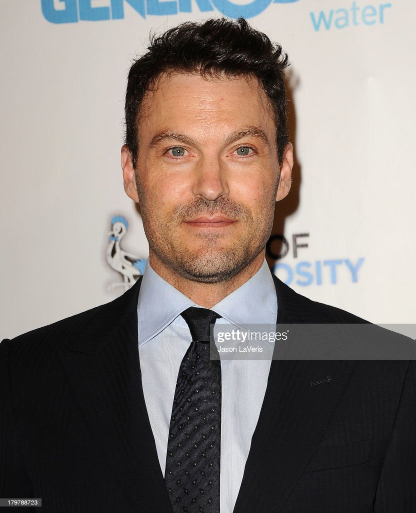 Actor <a gi-track='captionPersonalityLinkClicked' href=/galleries/search?phrase=Brian+Austin+Green&family=editorial&specificpeople=239168 ng-click='$event.stopPropagation()'>Brian Austin Green</a> attends Generosity Water's 5th annual Night of Generosity benefit at Beverly Hills Hotel on September 6, 2013 in Beverly Hills, California.