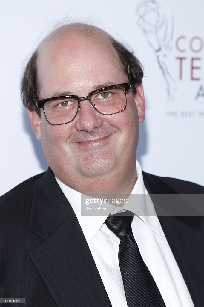 Actor <a gi-track='captionPersonalityLinkClicked' href=/galleries/search?phrase=Brian+Baumgartner&family=editorial&specificpeople=841410 ng-click='$event.stopPropagation()'>Brian Baumgartner</a> attends the 34th College Television Awards Gala at JW Marriott Los Angeles at L.A. LIVE on April 25, 2013 in Los Angeles, California.