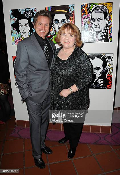 Actor Brian Beacock and actress Patrika Darbo attend 5th Annual Indie Series Awards held at El Portal Theatre on April 2 2014 in North Hollywood...