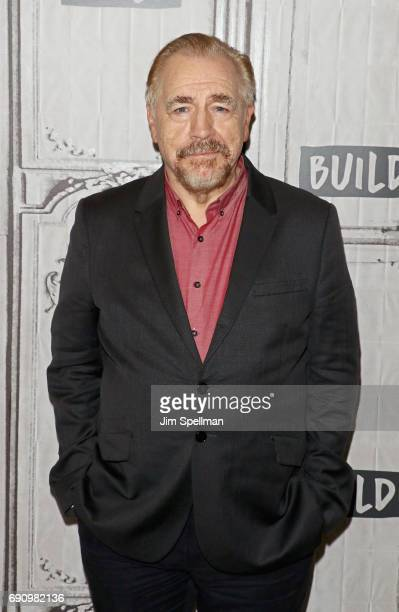 Actor Brian Cox attends Build to discuss 'Churchill'at Build Studio on May 31 2017 in New York City