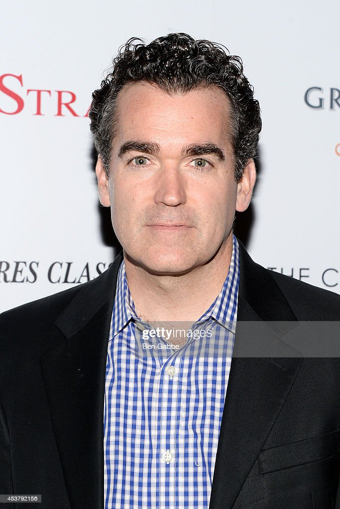Actor Brian D'Arcy James attends the Sony Pictures Classics With The Cinema Society & Grey Goose screening of 'Love Is Strange' at Tribeca Grand Hotel on August 18, 2014 in New York City.