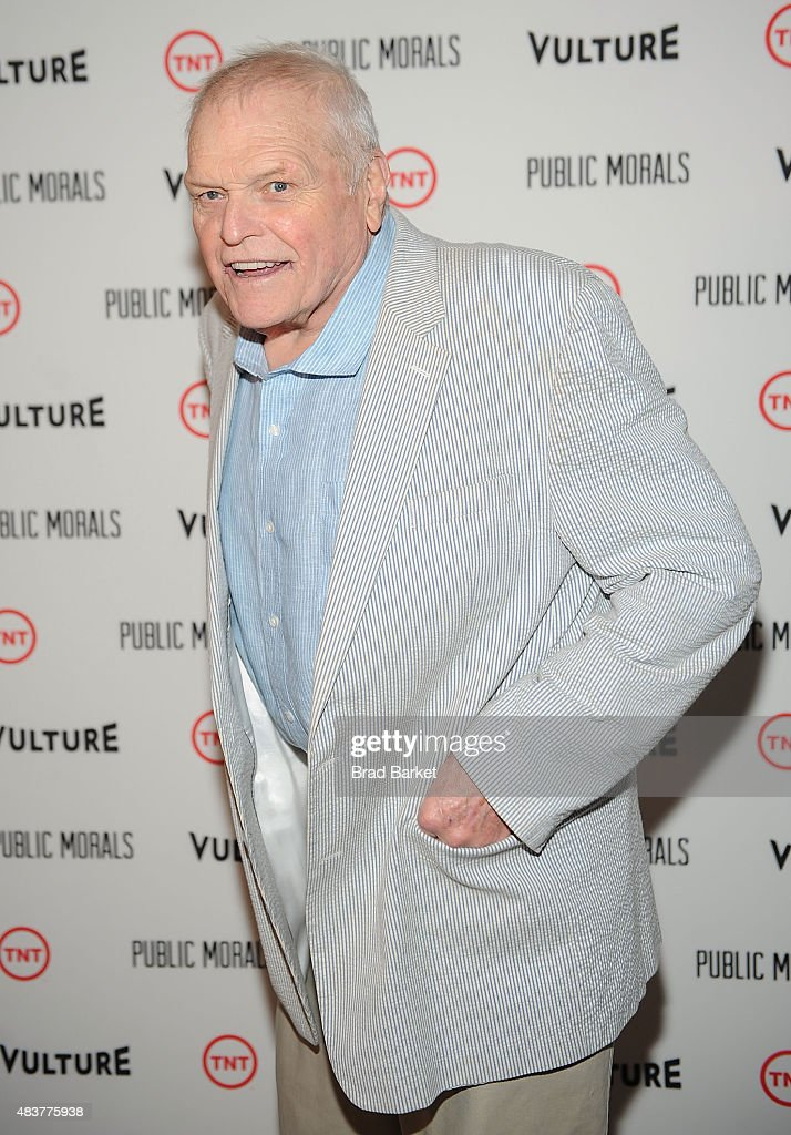 Actor Brian Dennehy attends The NYMag, Vulture + TNT Celebrate the Premiere of 'Public Morals' on August 12, 2015 in New York City.