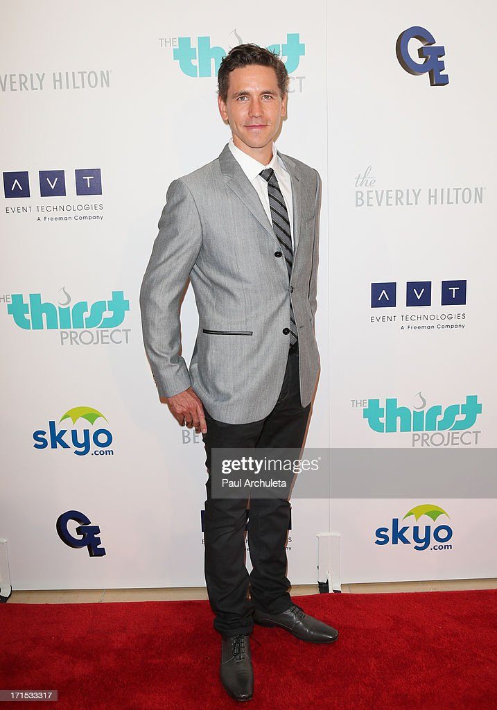 Actor Brian Dietzen attends the 4th annual Thirst Gala at The Beverly Hilton Hotel on June 25, 2013 in Beverly Hills, California.
