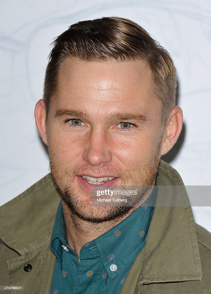 Actor Brian Garrity attends the Oakley's Disruptive By Design Launch Event at Red Studios on February 24, 2014 in Los Angeles, California.