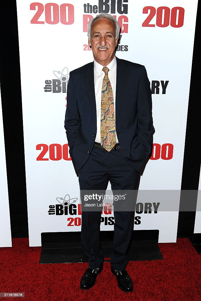 Actor Brian George attends 'The Big Bang Theory' 200th episode celebration at Vibiana on February 20 2016 in Los Angeles California