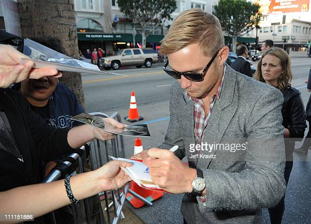Actor Brian Geraghty arrives at Summit Entertainment's Premiere of 'The Hurt Locker' held at the Egyptian Theatre on June 5 2009 in Hollywood...