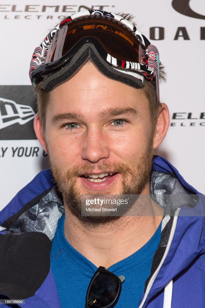 Actor <a gi-track='captionPersonalityLinkClicked' href=/galleries/search?phrase=Brian+Geraghty&family=editorial&specificpeople=2191642 ng-click='$event.stopPropagation()'>Brian Geraghty</a> attends Oakley Learn To Ride In Collaboration With New Era - Day 1 - 2013 Park City on January 18, 2013 in Park City, Utah.
