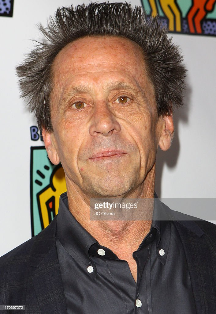 Actor <a gi-track='captionPersonalityLinkClicked' href=/galleries/search?phrase=Brian+Grazer&family=editorial&specificpeople=203009 ng-click='$event.stopPropagation()'>Brian Grazer</a> attends Best Buddies Jobs Vanguard reception at UTA on June 11, 2013 in Beverly Hills, California.