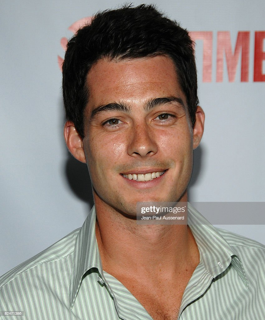 Actor Brian Hallisay arrives at the CBS, CW and Showtime Press Tour Stars Party held at Boulevard 3 on July 18th, 2008 in Hollywood, California.