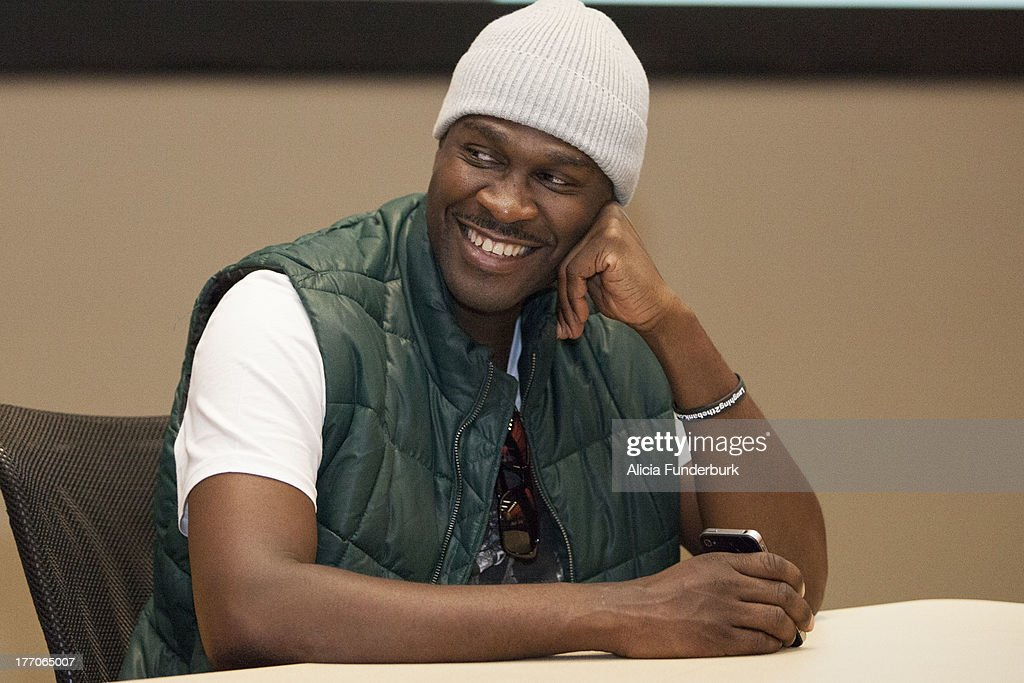 Actor Brian Hooks attends the 'Laughing To The Bank' movie promo visit at North Carolina Agricultural & Technical State University on August 20, 2013 in Greensboro, North Carolina.