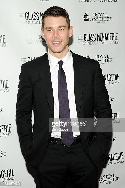 Actor Brian J Smith attends 'The Glass Menagerie' Broadway Opening Night After Party at The Redeye Grill on September 26 2013 in New York City