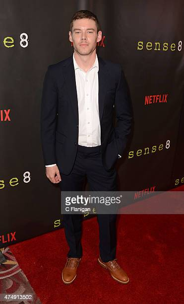 Actor Brian J Smith attends the Premiere Of Netflix's 'Sense8' at AMC Metreon 16 on May 27 2015 in San Francisco California
