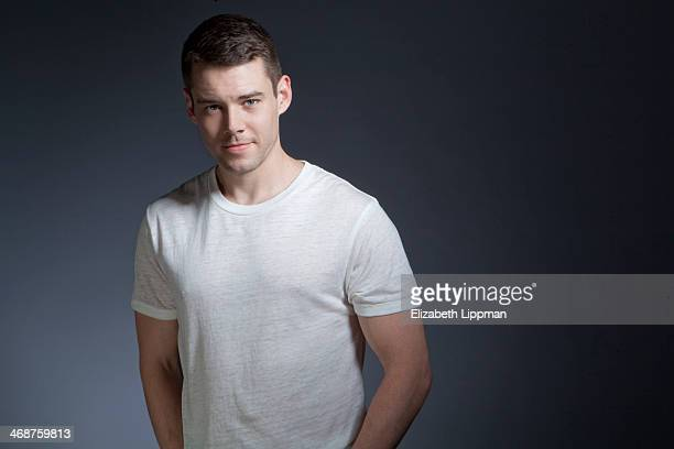 Actor Brian J Smith is photographed for New York Post on November 12 2013 in New York City