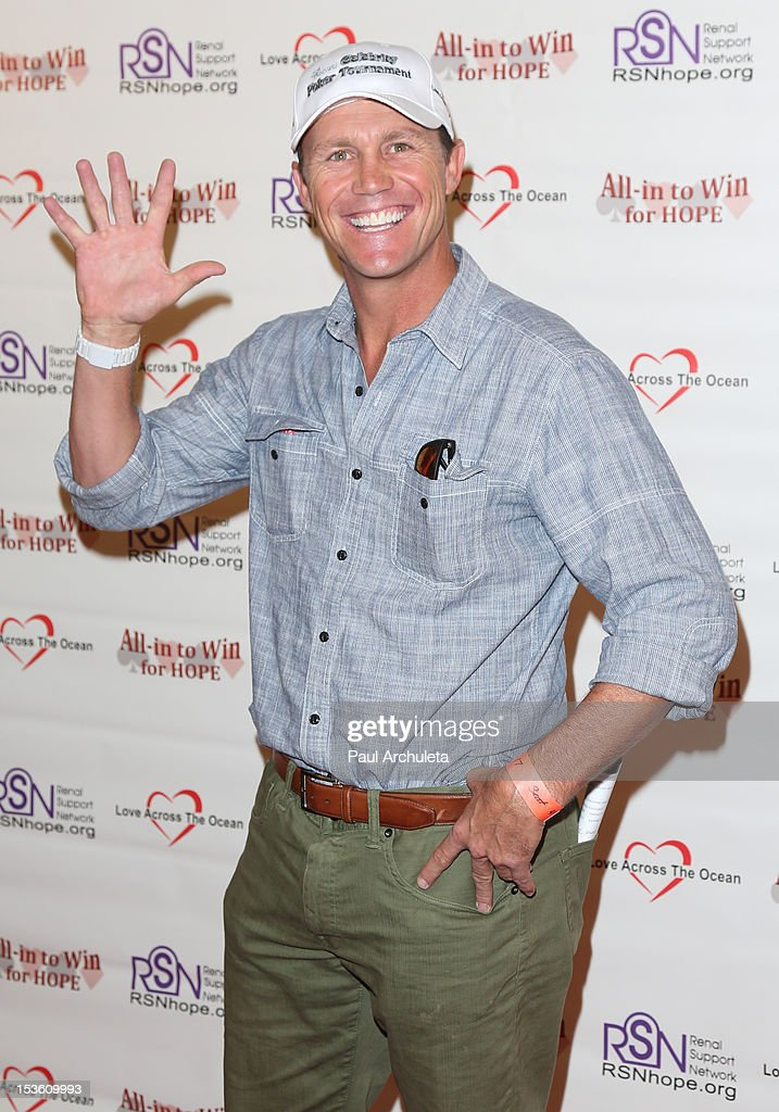 Actor <a gi-track='captionPersonalityLinkClicked' href=/galleries/search?phrase=Brian+Krause&family=editorial&specificpeople=2115671 ng-click='$event.stopPropagation()'>Brian Krause</a> attends 'In To Win For Hope' no limit Texas Hold'em celebrity charity poker tournament at The Commerce Casino on October 6, 2012 in City of Commerce, California.