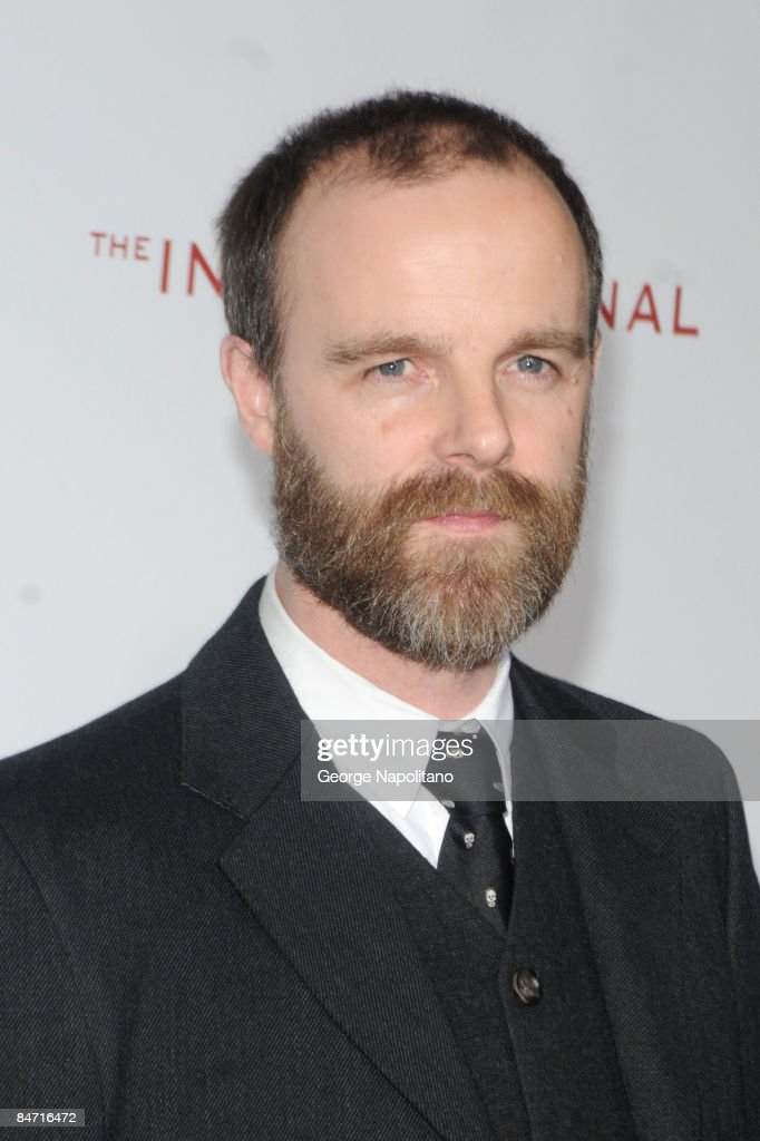 Actor Brian O'Byrne attends the Cinema Society and Angel by Thierry Mugler screening of 'The International' at AMC Lincoln Square on February 9 2009...