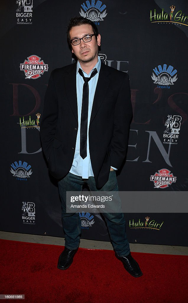 Actor Brian Ronalds arrives at the Los Angeles Premiere of 'The Devil's Dozen' at Mann's Chinese 6 Theatres on February 1, 2013 in Hollywood, California.
