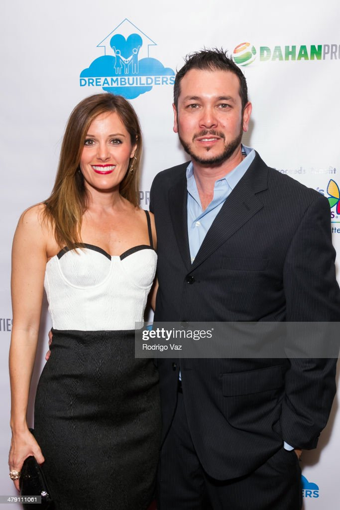 Actor Brian Ronalds (R) attends The Dream Builders Project 'A Brighter Future For Children' at H.O.M.E. on March 15, 2014 in Beverly Hills, California.