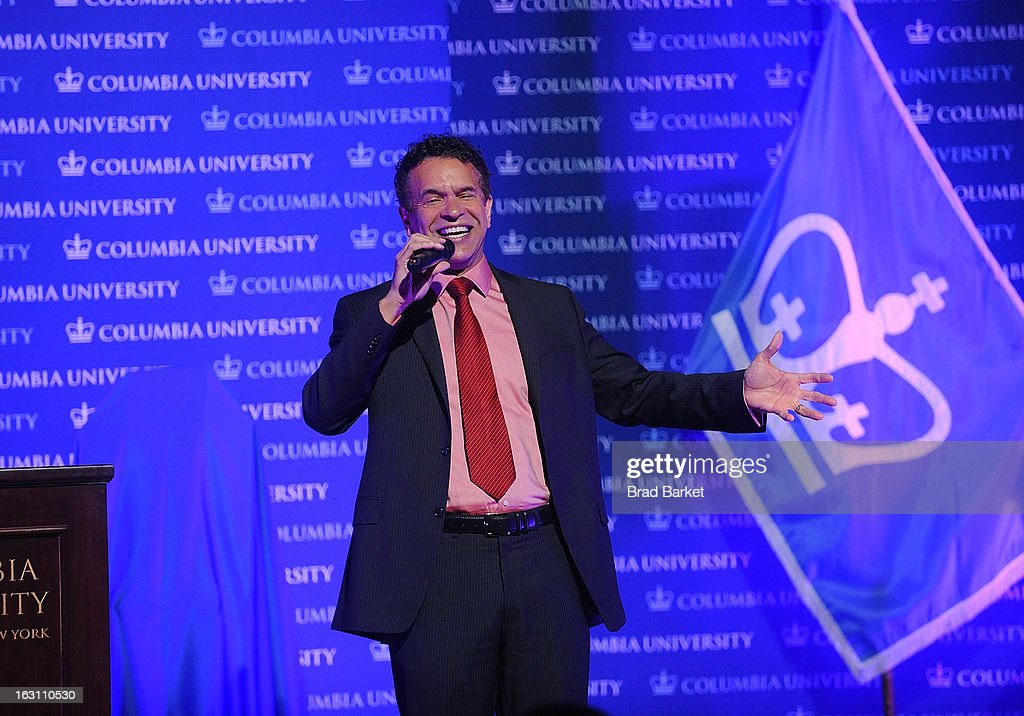 Actor Brian Stokes Mitchell attends the 2013 Edward M. Kennedy Prize For Drama Award Reception at Columbia University on March 4, 2013 in New York City.