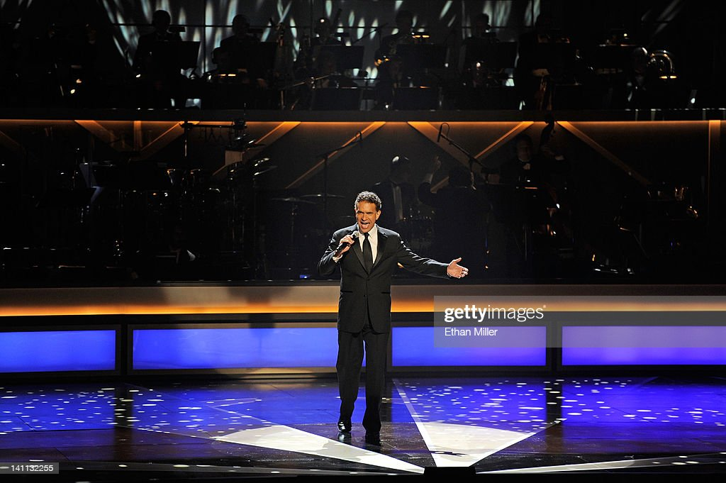 Actor <a gi-track='captionPersonalityLinkClicked' href=/galleries/search?phrase=Brian+Stokes+Mitchell&family=editorial&specificpeople=213301 ng-click='$event.stopPropagation()'>Brian Stokes Mitchell</a> performs during the opening night of The Smith Center for the Performing Arts on March 10, 2012 in Las Vegas, Nevada.