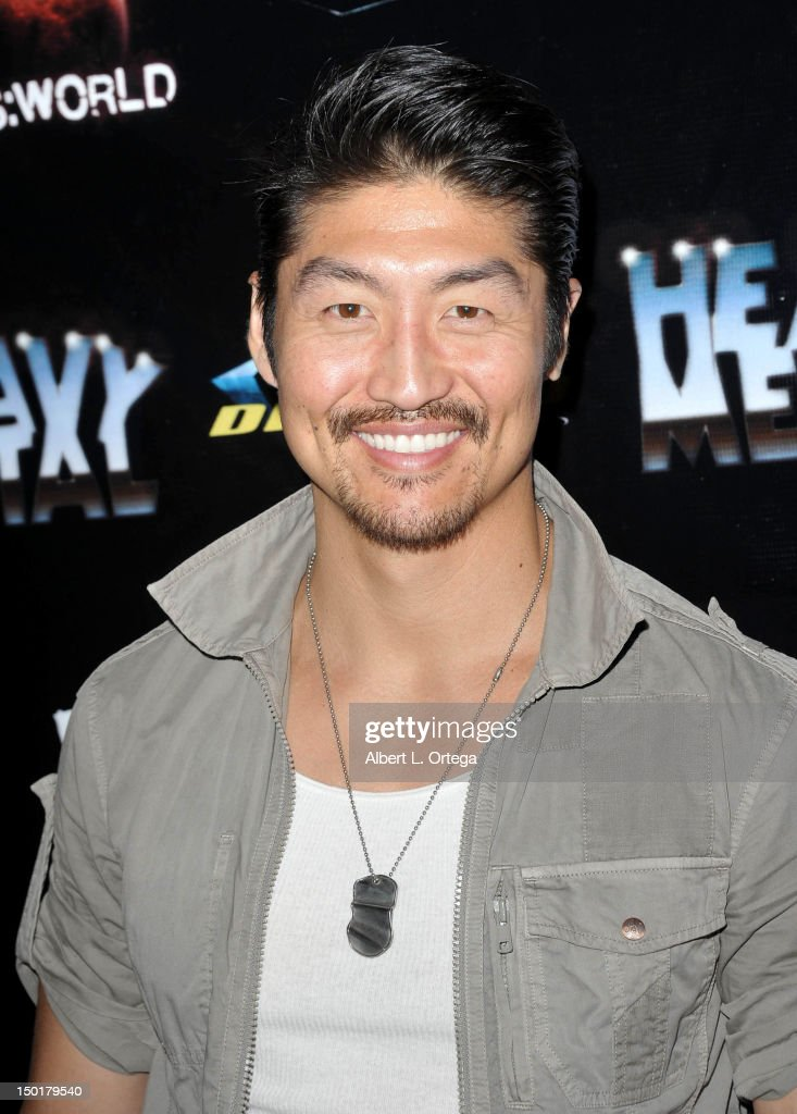 Actor Brian Tee attends Heavy Metal Magazine's 35th Anniversary Party - Comic-Con International 2012 held at The Haunted Hotel on July 12, 2012 in San Diego, California