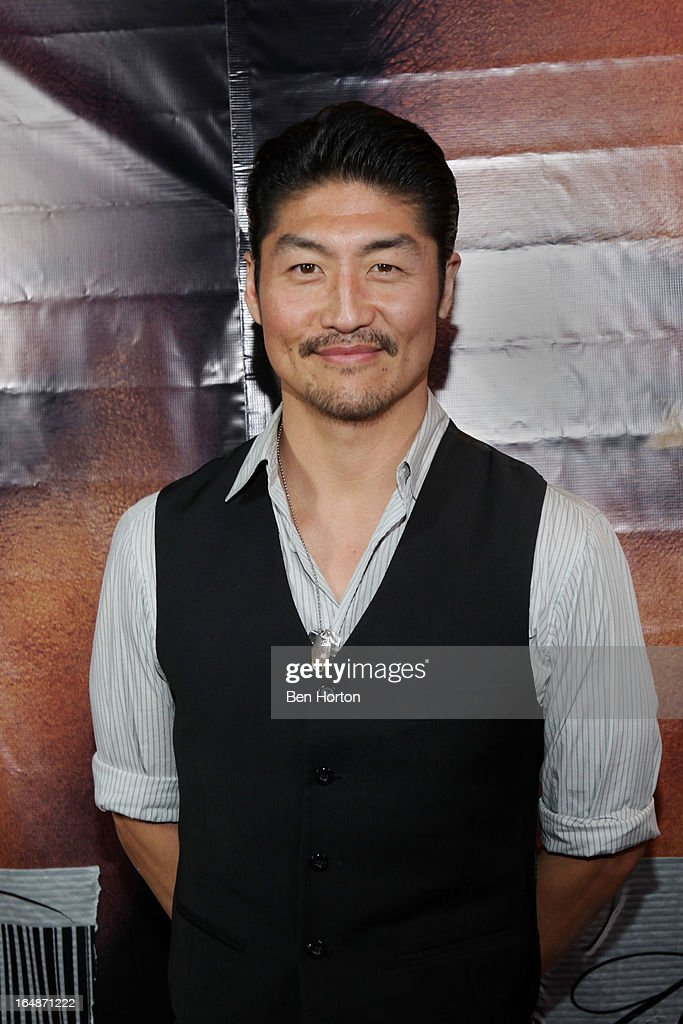 Actor Brian Tee attends the premiere of 'Eden' at Laemmle Music Hall on March 28, 2013 in Beverly Hills, California.
