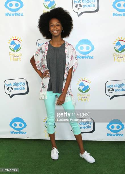 Actor Brianna Reed attends 'Celebrities To The Rescue' at CBS Studios on May 6 2017 in Los Angeles California