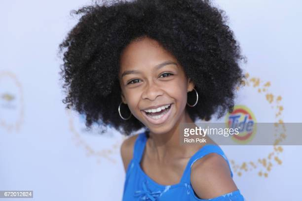 Actor Brianna Reed attends Safe Kids Day 2017 at Smashbox Studios on April 23 2017 in Culver City California