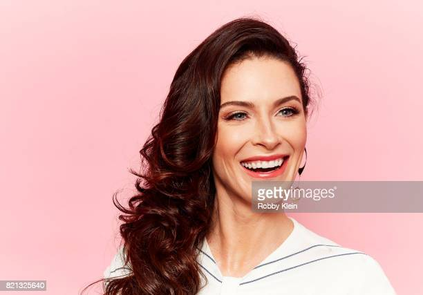 Actor Bridget Regan from TNT's 'The Last Ship' poses for a portrait during ComicCon 2017 at Hard Rock Hotel San Diego on July 23 2017 in San Diego...