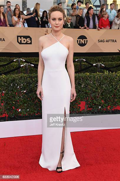 Actor Brie Larson attends the 23rd Annual Screen Actors Guild Awards at The Shrine Expo Hall on January 29 2017 in Los Angeles California