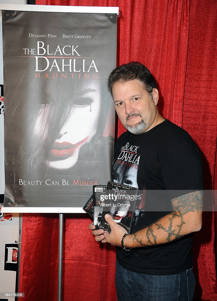 Actor Britt Griffith arrives for 'The Black Dahlia Haunting' DVD Release Party held at The Station Hollywood on October 15, 2013 in Hollywood, California.