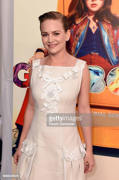 Actor Britt Robertson attends the premiere of Netflix's 'Girlboss' at ArcLight Cinemas on April 17 2017 in Hollywood California