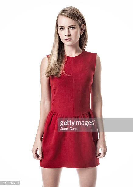 Actor Britt Robertson is photographed for 20th Century Fox on November 5 2014 in Los Angeles California