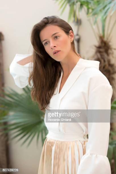 Actor Brittany Ashworth is photographed on May 23 2017 in Rome Italy