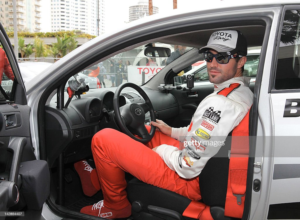 Actor <a gi-track='captionPersonalityLinkClicked' href=/galleries/search?phrase=Brody+Jenner&family=editorial&specificpeople=689564 ng-click='$event.stopPropagation()'>Brody Jenner</a> poses during the 36th Annual Toyota Pro/Celebrity Race - Press Practice Day of the Toyota Grand Prix of Long Beach on April 13, 2012 in Long Beach, California.